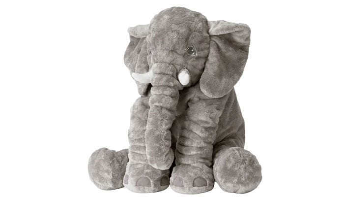 soñar con elefante de peluche