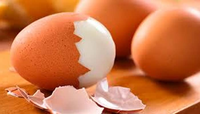 soñar con huevo cocido