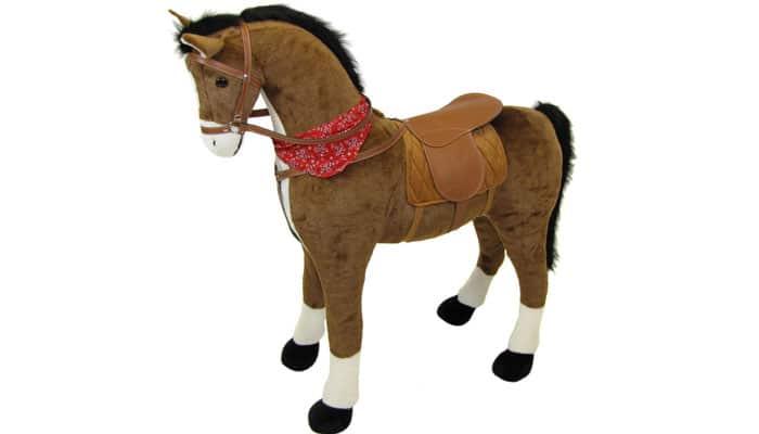 soñar con caballo de peluche