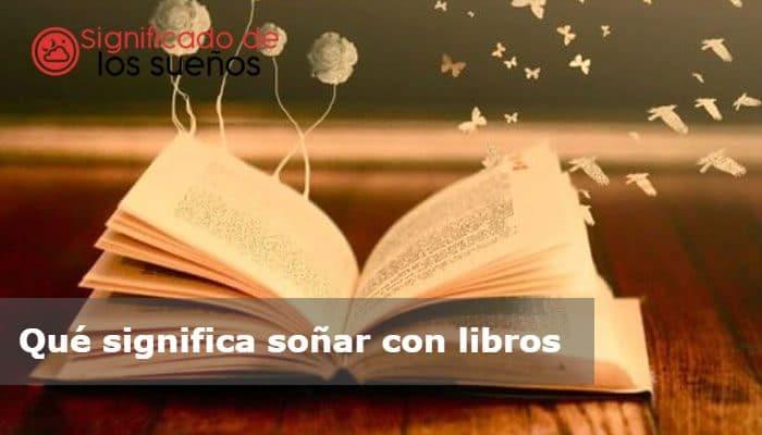 soñar con libros