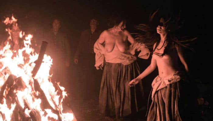 soñar con brujas desnudas