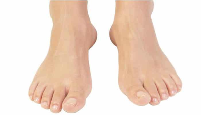 soñar con los pies