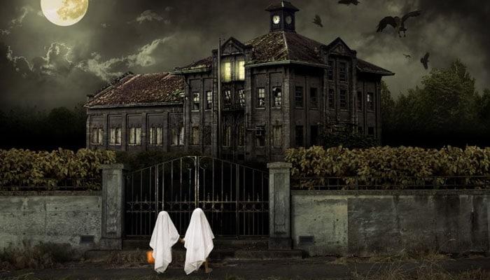 soñar con casa embrujada